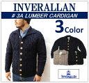 【送料無料】【INVERALLAN/インバーアラン】-3A LUMBER CARDIGAN/3Aランバーカーディガン-