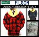 【FILSON/フィルソン】-WOOL PACKER COAT(2 color)