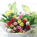 バラ花束 送料無料 バラ22本 誕生日にバラをプレゼ...