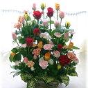 バラ30本と季節の花のフラワーアレンジメント(アレ...