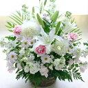 【送料無料】【お供え 花 あす楽対応】大輪 白百合...