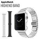 アップルウォッチ バンド ステンレス ベルト 交換用ラグ付き apple watch series4