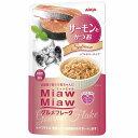 (まとめ)MiawMiawグルメフレーク サーモンとかつお 60g【×96セット】【ペット用品・猫用フード】
