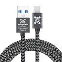 Type-C ケーブル ZEBRA メッシュタイプ 30cm 1.2m 2m USB-C 急速充電 データ通信 USB3.0 充電器 Android Experia XZ XZs XZ1 Galaxy sw..