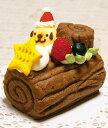 全犬種向☆馬肉赤身の発酵ケーキ『馬肉deブッシュ・ド・ノエル』
