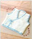編み図付キット(05a66) 立体チェック柄の胴着 編み物 ...