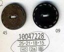 BEL-WB35水牛角ボタン模様入丸15mm 高級アパレル用ボタン 手芸の山久