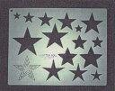 パッチワーク用具LHキルティングテンプレート中「星」(リトルハウス430111-1422)