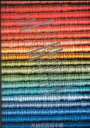 金亀印 絹糸 色見本帳 カラーサンプル 手縫い糸 ミシン糸 kkm 手芸の山久