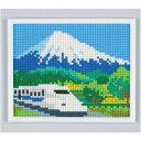 スキルミニギャラリー MG80 新幹線と富士山 元廣 手芸の山久