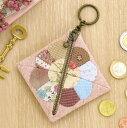 パッチワークキット デイジーのコインケース(ピンク) SP-19 かわいい小物たちシリーズ olm オリムパス 手芸の山久