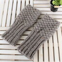 手編みキット エバーツイード2玉で編むグローブキット(ニットキット編み図付) オリムパス olm ym9 手芸の山久