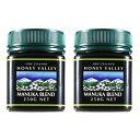 ★2個セット ニュージーランド生蜂蜜 ハチミツ はちみつハニーバレー(100% Pure New Zealand Honey)社 マヌカ