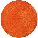 楽天DIYホームセンターハンズマンプレイスマット ラウンド オレンジ  テーブルマット ランチョンマット ランチマット (8691630) 【送料別】【通常配送】