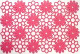 プレイスマット ポリエステルフェルトシリーズ 「フラワー」 ピンク 05008LPK テーブルマット 敷物 【pink】 (8675473) 【送料別】【通常配送】