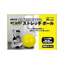 ライテック ストレッチボール 55CM Y MN120 (6881785) 【取寄せ商品】【送料別】【通常配送】