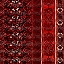クッションマット65ペルシャ赤70271 10cm単位8679380