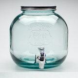 エコガラスジャグチ 6L 5296G20 (リサイクルガラス、スペイン製、直輸入、サーバー) (7827903) 【送料別】【通常配送】