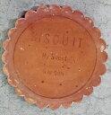 ステップストーン ビスケット サークル D−BS300−S 飛石 庭石(3224538)【取寄せ商品】【送料別】【通常配送】