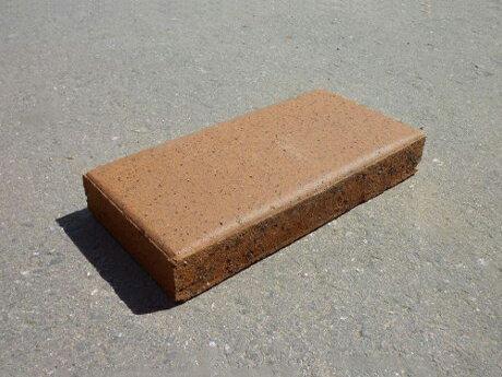 レンガブロック / 煉瓦 オーストラリア製レンガ リーガルタン シングル 約 230×115mm×30mm 3209474 送料別 通常配送 / レンガ ブロック 敷石