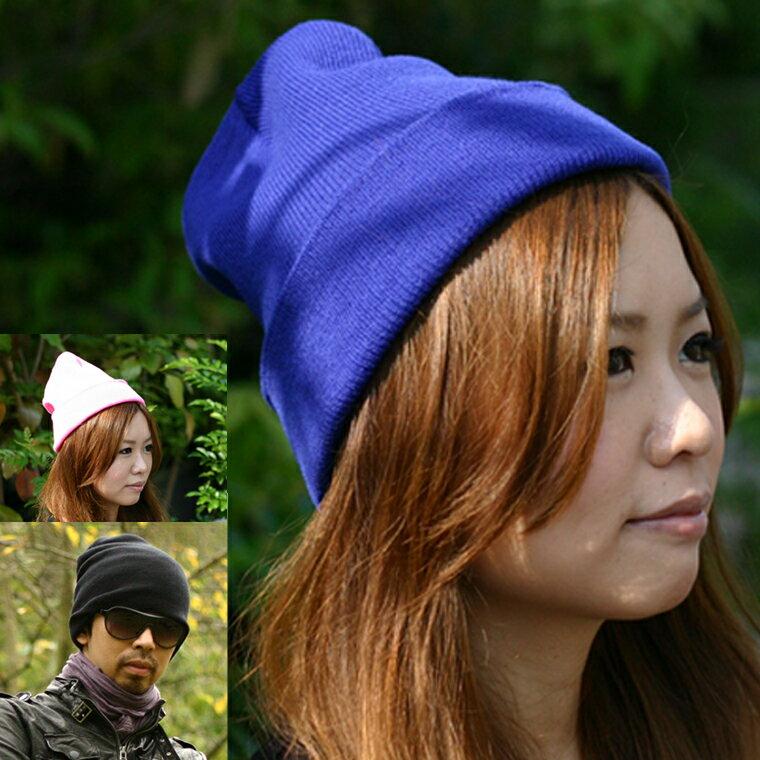 ■【レビュー3,000件突破!】ニット帽 レディース ビーニー 帽子 サマーニット帽 無地…...:handycaps:10000127