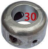 シャフト亜鉛 割型 30mm プロペラ亜鉛の画像