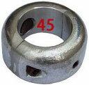 シャフト亜鉛 割型 45mm プロペラ亜鉛