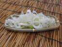 ★新鮮カットねぎ出荷当日製造 白ネギ(葱)斜め切り 500g入り