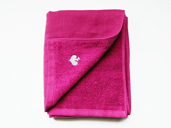 刺繍入りガーゼタオル