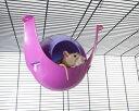 【SAVIC】ハウスにもハンモックにもなる球体型のハムスターハウスです。ベルギーサヴィッチ社製 ハムスターハンモック スプートニクXL fushia/violet 【うさぎ ラビット ハムスター フェレット 小動物】