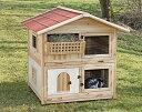 【ドイツKerbl】お家デザインの他にはないデザインのラビットケージです。ドイツKerbl社ラビットケージ チロルアルパイン Rodent ...