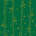<クリスマス>ネージュ緑・全判(10枚巻きロールタイプ)
