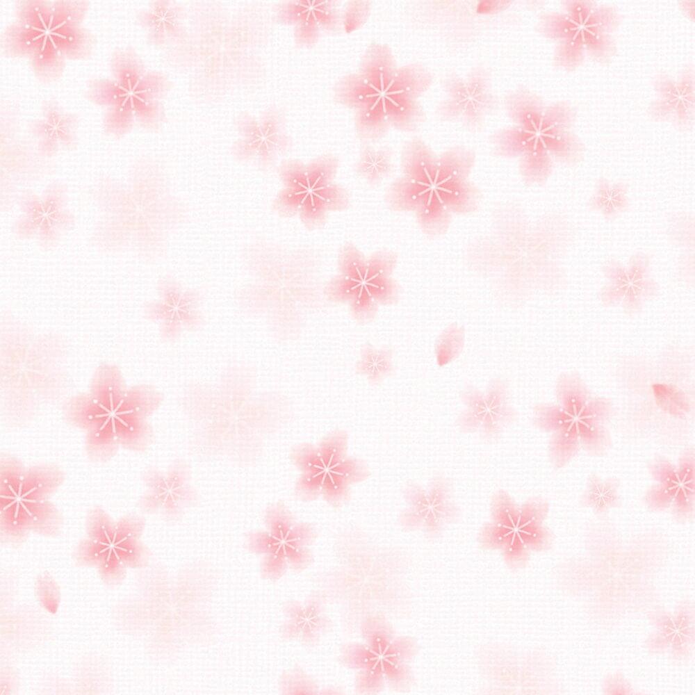 包装紙 花柄 和ごころ桜 全判包装紙 縦757×横1060mm 50枚入 49-2510 タカ印紙製品 ササガワ