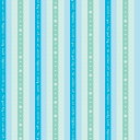 ストライプ柄包装紙(ハッピーライフB)(全判)【全判・50枚入り・ラッピング用品】[繁盛工房]