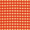 チェック柄包装紙(レトロチェック赤)【半才判・50枚入り・ラッピング用品】[繁盛工房]