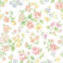 包装紙(ロマネスク)【全判・50枚入り・ラッピング用品 花柄 かわいい】[繁盛工房]