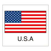 国旗シール(U.S.A)アメリカ