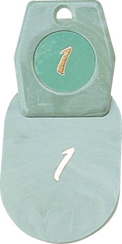 【最大1000円OFFクーポン発行中】シンビ マーブルクローク札zt-マーブルクローク札(2枚1組)ホテル宿泊設備用品