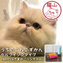 猫の印鑑 写真からつくるネコのはんこ「うちのこ ねこずかん」セルフインクタイプ