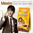 ソウル市場韓国食品マクシム韓国コーヒーミックスコーヒーMAXIMカフェラテモカゴールド