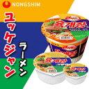 農心 ユッケジャンカップ麺86g(小)