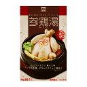 ソウル市場 自社製 レトルト参鶏湯 サムゲタン ハーフサイズ1kg(骨付き)