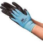 3Mコンフォートグリップグローブ【ブルー・Lサイズ】GLOVE-BLU-L(スリーエム,作業用手袋,一般作業用,細かい作業,むれない,通気性,耐油性,油作業)