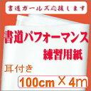 書道パフォーマンス用練習紙【RCP】 【楽ギフ_包装】