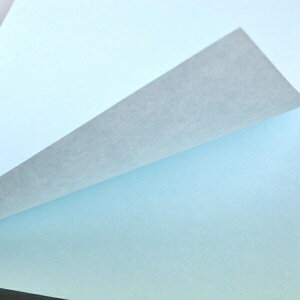 漢字用半紙カラー半紙/「空色」