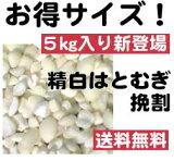 【】精白はと麦(挽割) 5kg【sm15-17】【smtb-KD】