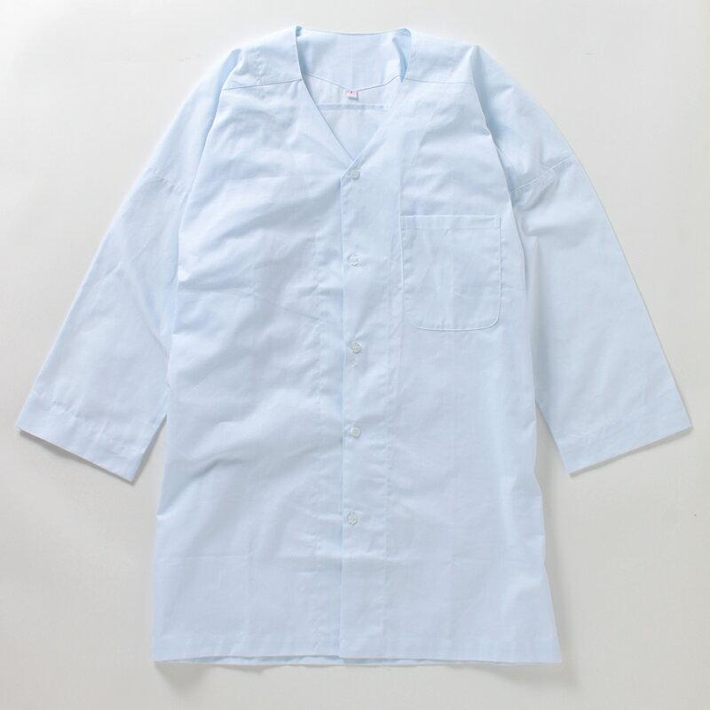 お子様用 白鯉口シャツ(こいくちシャツ)(こいぐちシャツ)【 ご奉仕品 】【蛍光白・少し青みがかってますが、洗濯を重ねることで白くなります。】【1枚までゆうパケット○】【 鯉口シャツ 祭り 祭り衣装 白 子供用 大特価 】小学生