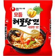 【農心】 ヘムルタン麺(海鮮ラーメン)125g 1箱=40個入(4箱=1個口)【韓国食品・韓国ラーメン】