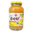 【オトギ】柚子茶1kgx1箱(9本)★1本当り¥637(税込)★1箱=荷物1口【あす楽対応】