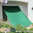 先行予約 撥水シェード ウオーターブロック W200×H300cm サンシェード 撥水 送料無料 オーニング 日よけ すだれ 雨よけ 防雨 目隠し 紫外線 UV対策 省エネ 節約 節電 よしず 洋風 タープ
